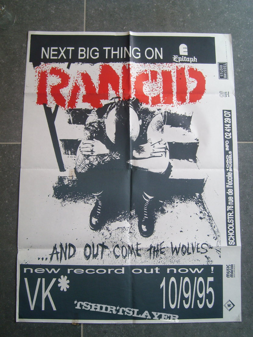 Tour Posters & Promo Posters, Hardcore, Metal 1994 - 1999