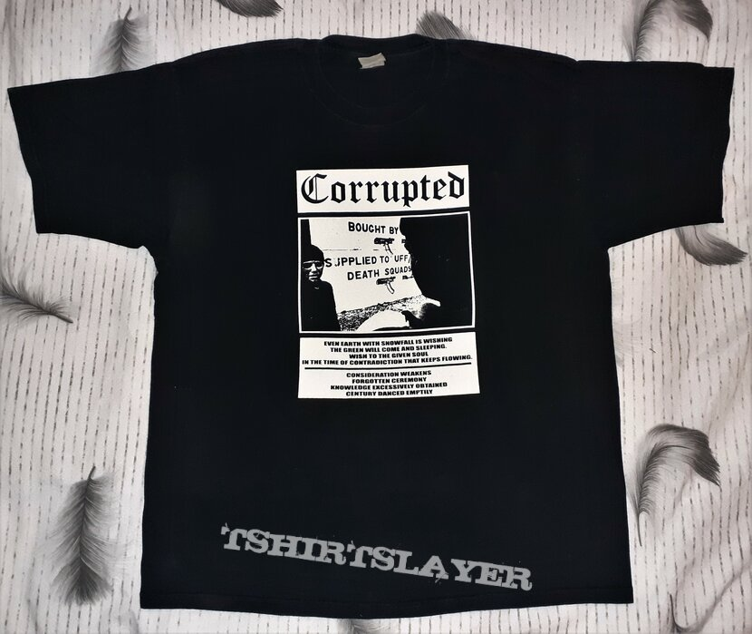 CORRUPTED The Color Of The Sky Has Melted shirt