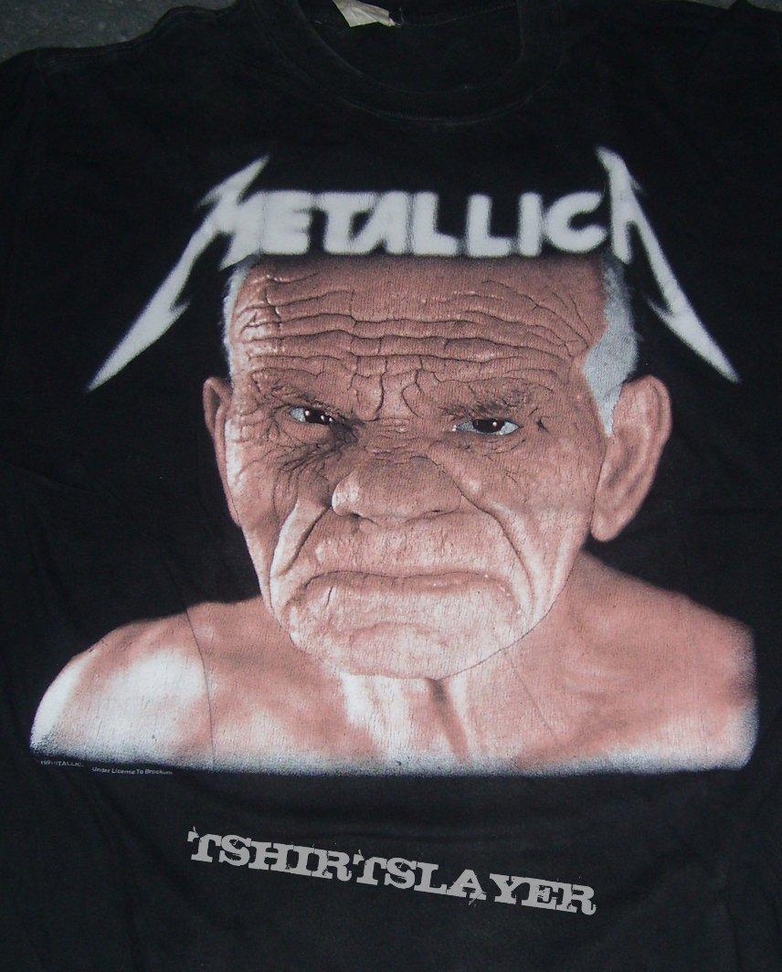 METALLICA Off To Never Never Land '91-92 shirt