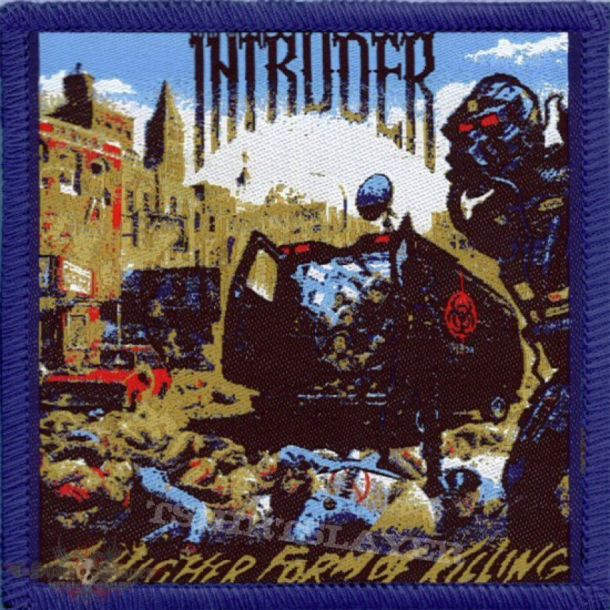 Intruder - A Higher Form of Killing (Woven Patch) | TShirtSlayer ...