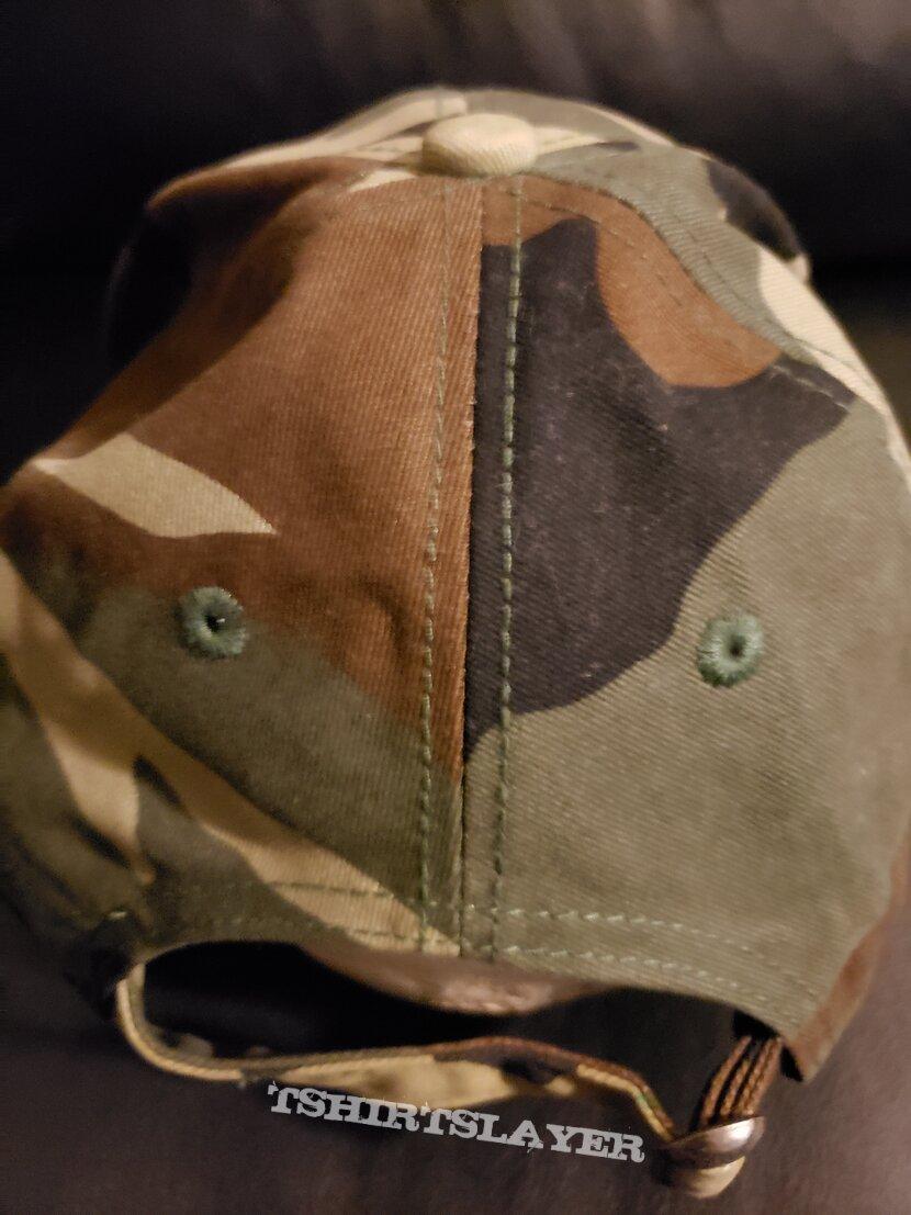 Obituary - camo hat