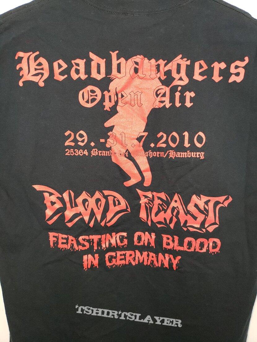 "Bloodfeast ""Kill For Plessure"" Headbangers Open Air 2010 shirt"