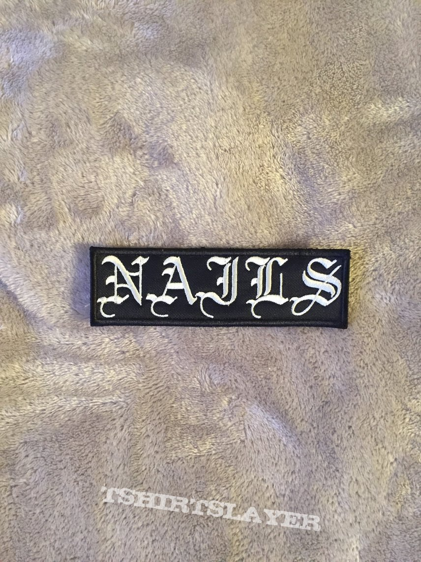 Nails - Logo Patch
