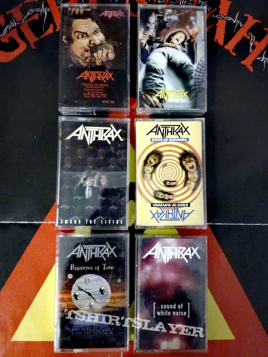 Anthrax tapes