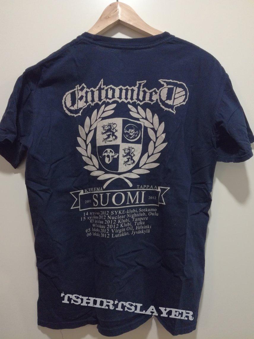 Entombed - Suomi size M tour TS