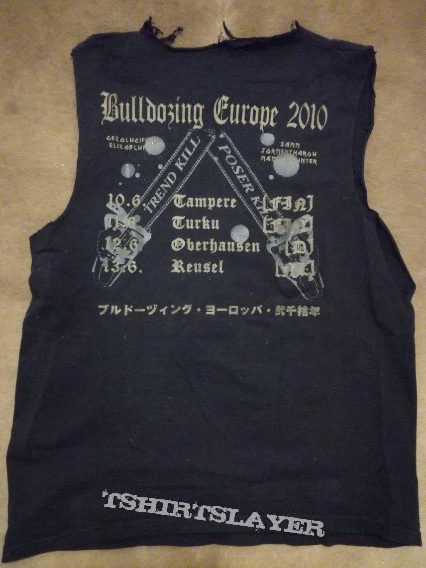 Metalucifer 2010 tour t-shirt XXXS