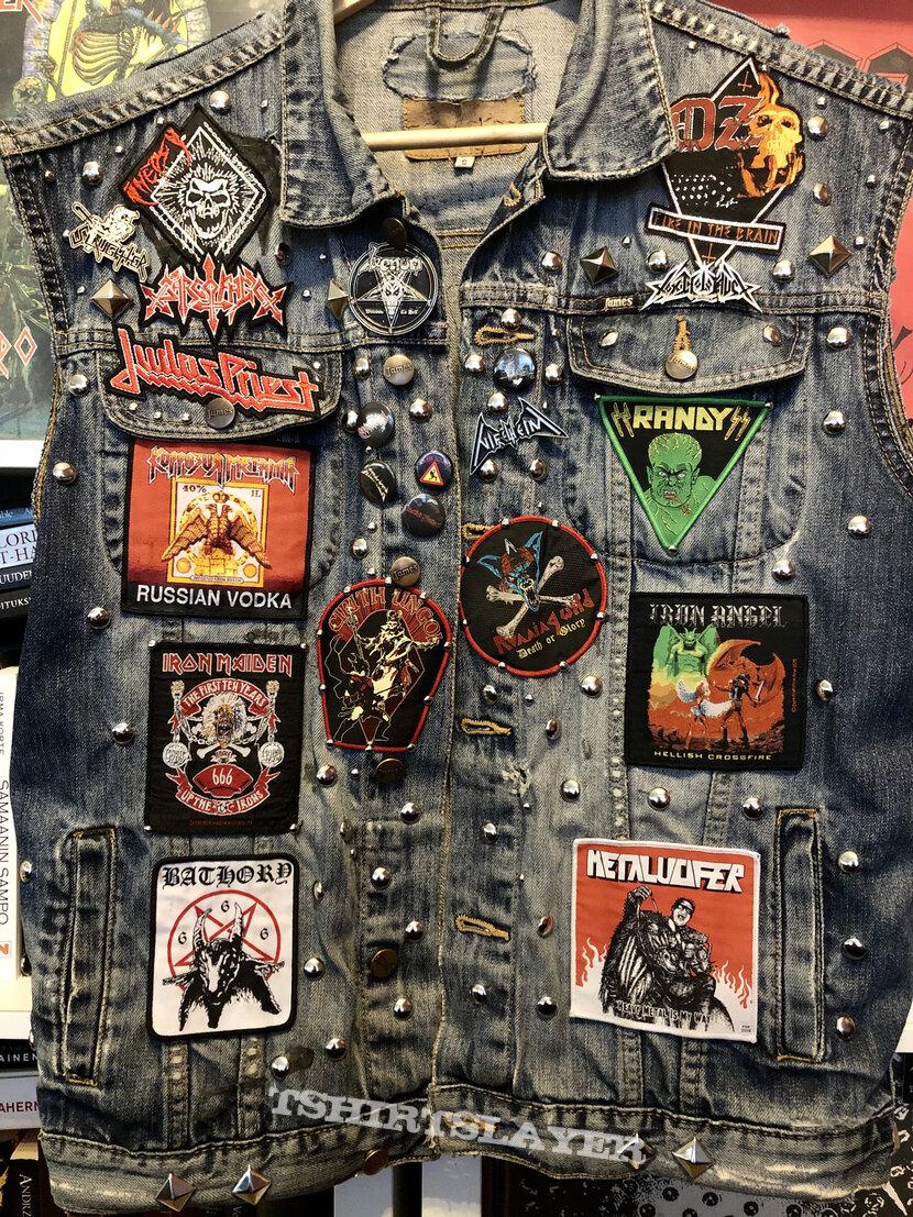 Studded Metal Vest