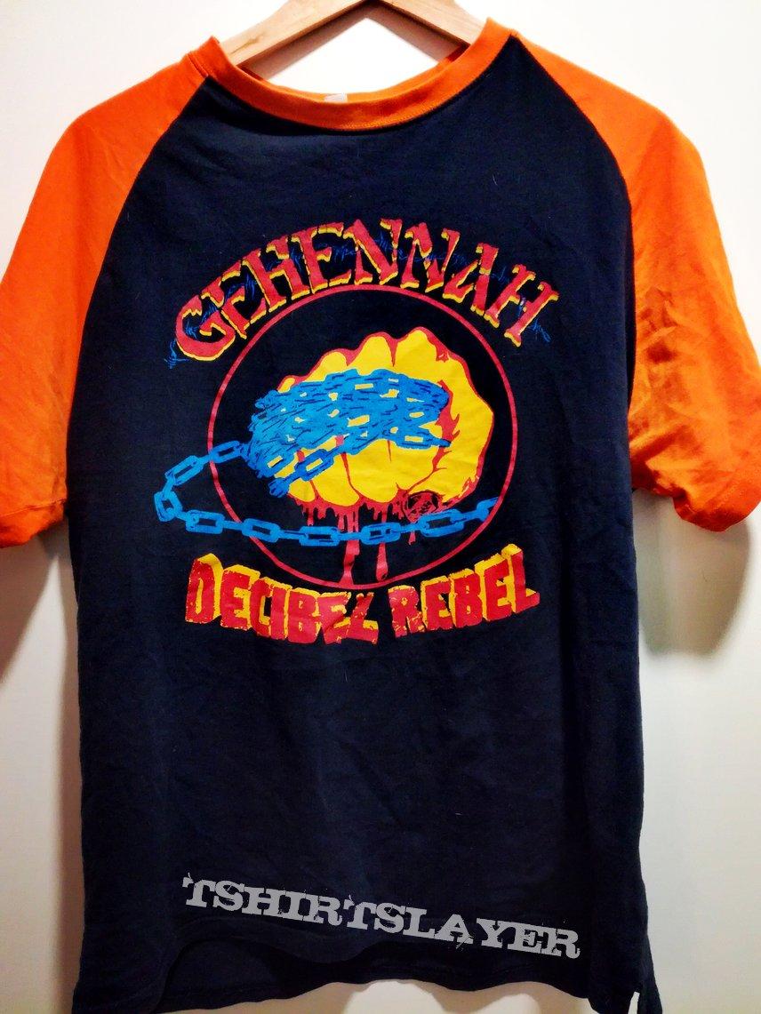 Gehennah - Decibel Rebel t-shirt