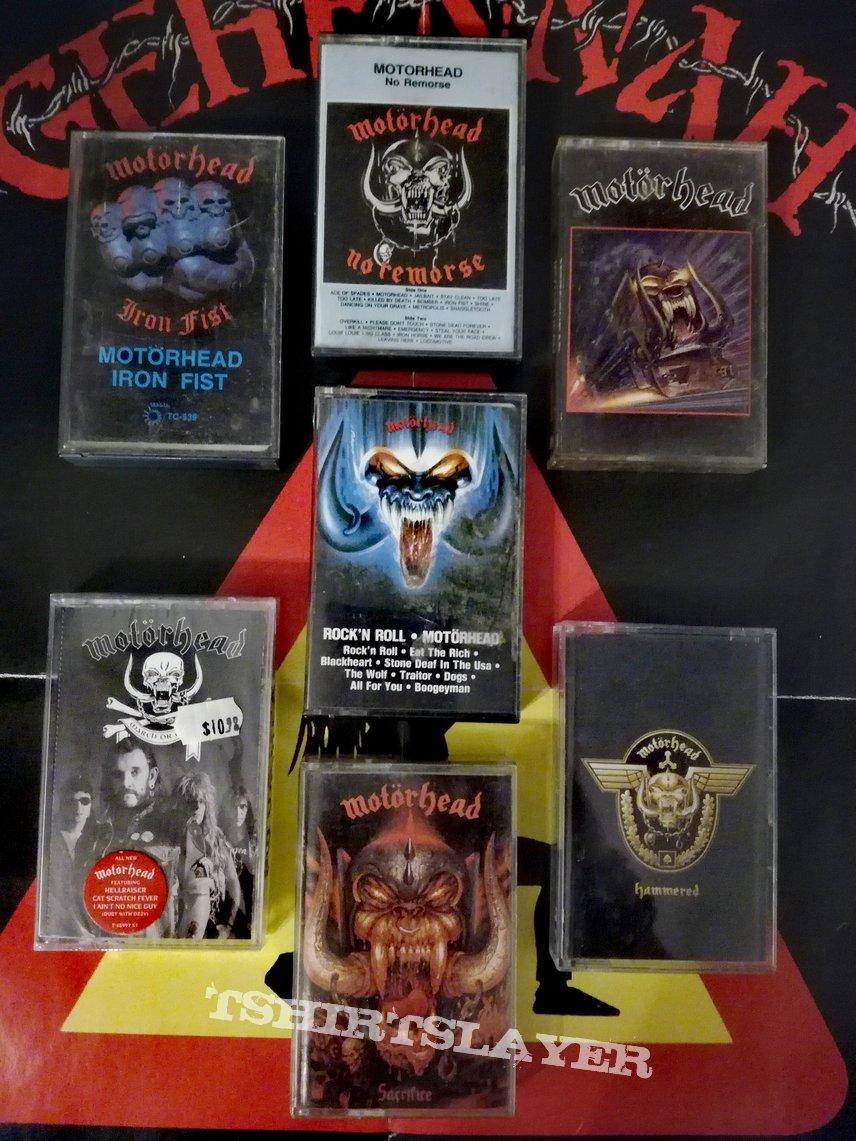 Motörhead tapes