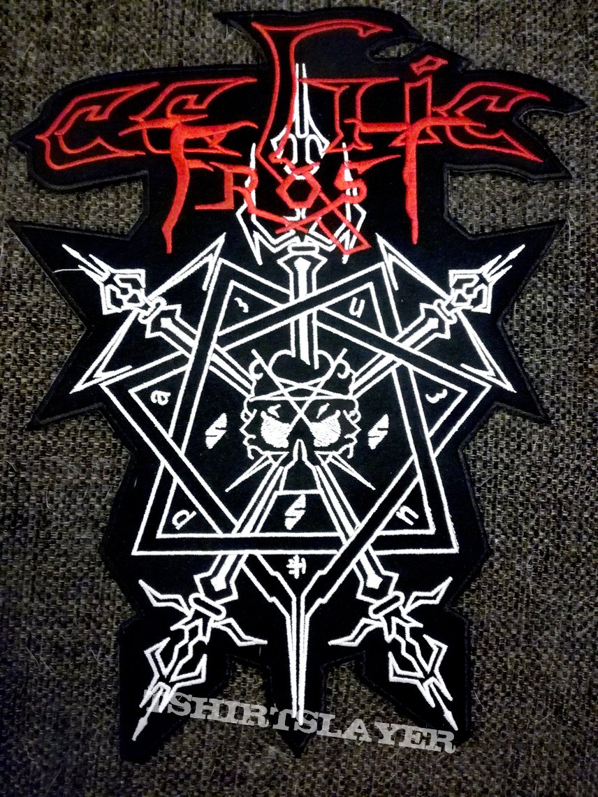 Celtic Frost Morbid Tales back patch