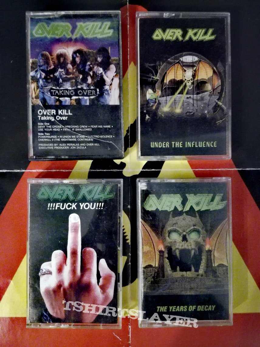 Overkill tapes