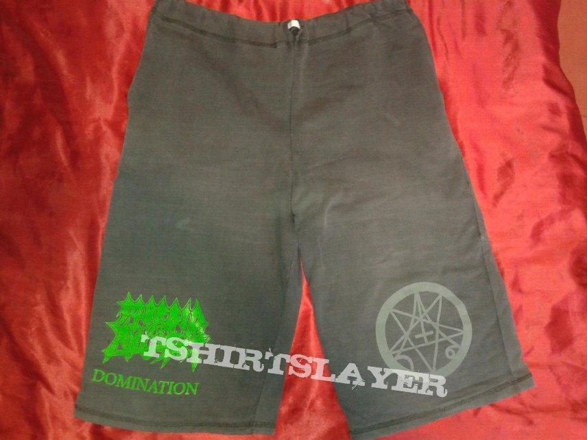 MORBID ANGEL Domination shorts