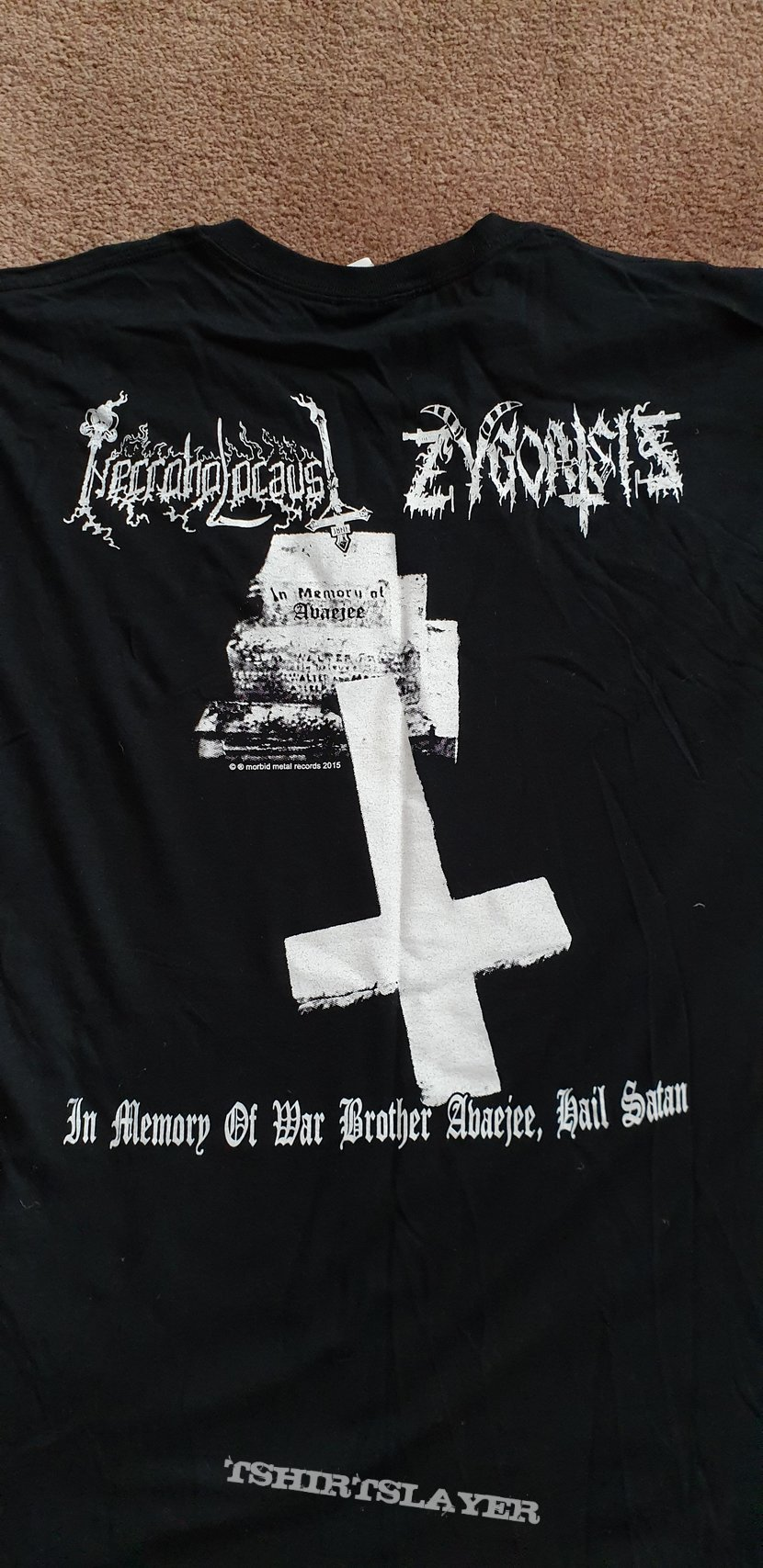 Annihilation Of The Kingdom Of God shirt.
