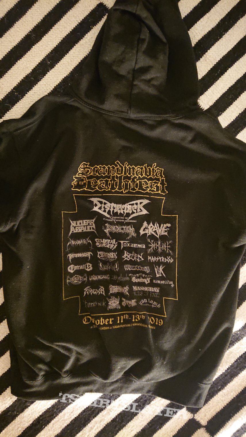 Scandinavia Deathfest hoodie