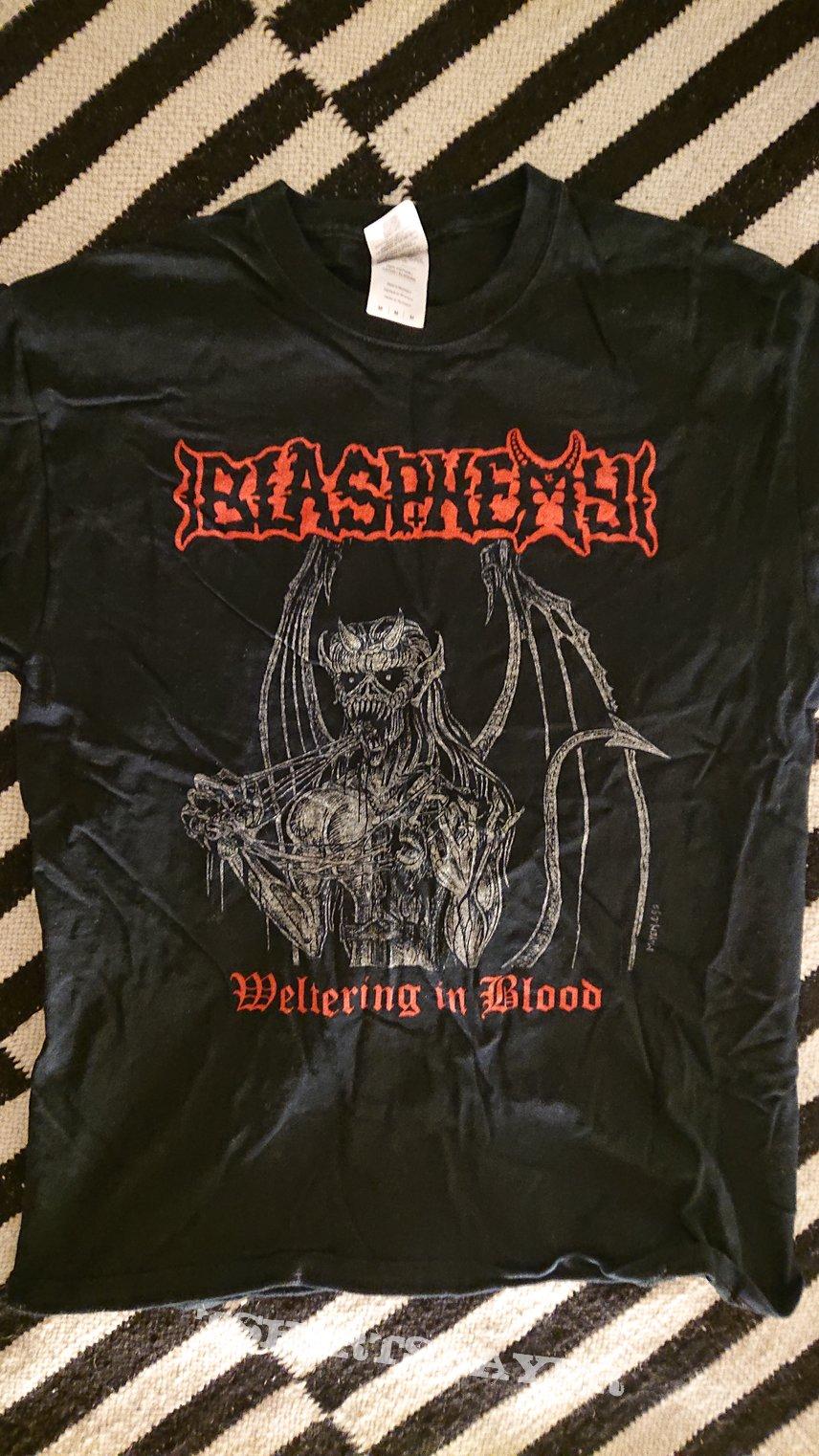 Blasphemy - Weltering in Blood T-shirt