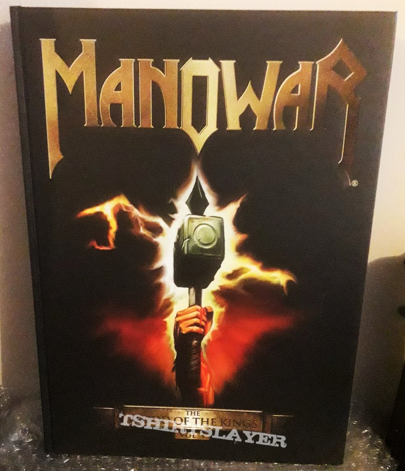 Manowar - Photo Book - The Blood Of The Kings Vol. I - autographed