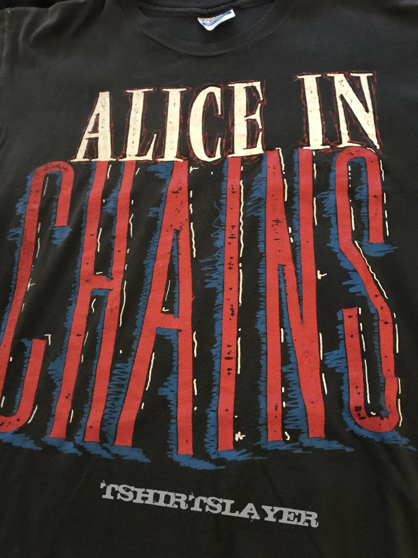 Alice in Chains 1990 So Fuck Off Shirt Original