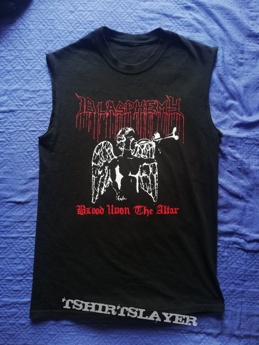 "Blasphemy ""Blood Upon the Altar"" size S-M"