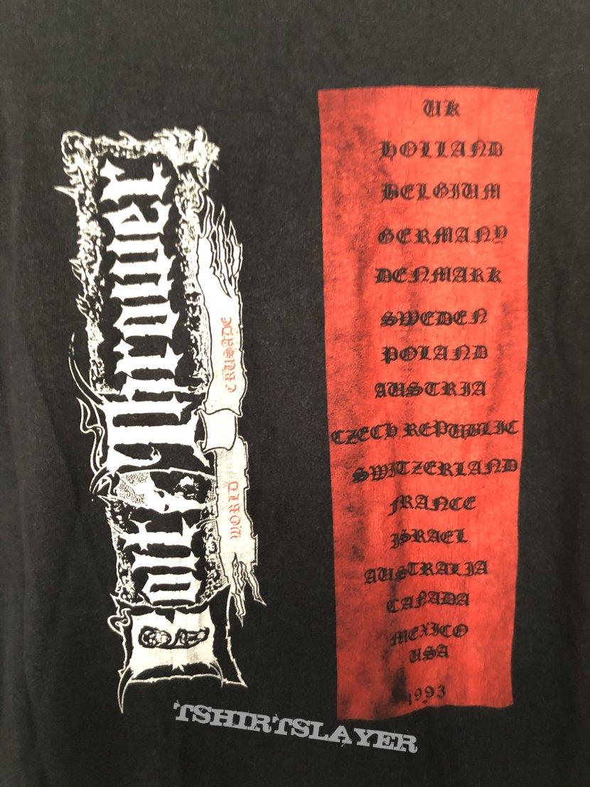 """Bolt Thrower """"World Crusade Tour"""", LS, XL"""