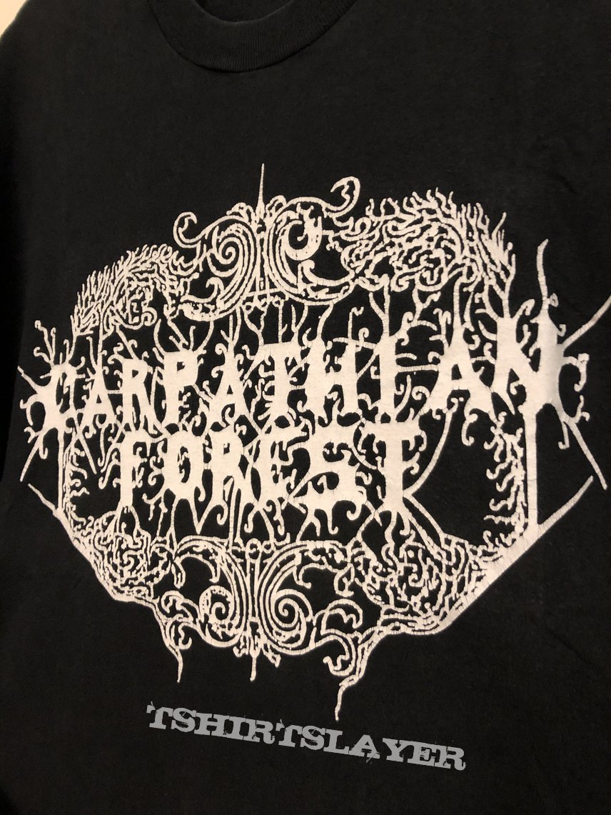 "Carpathian Forest ""Black Shining Letter"", TS, XL"