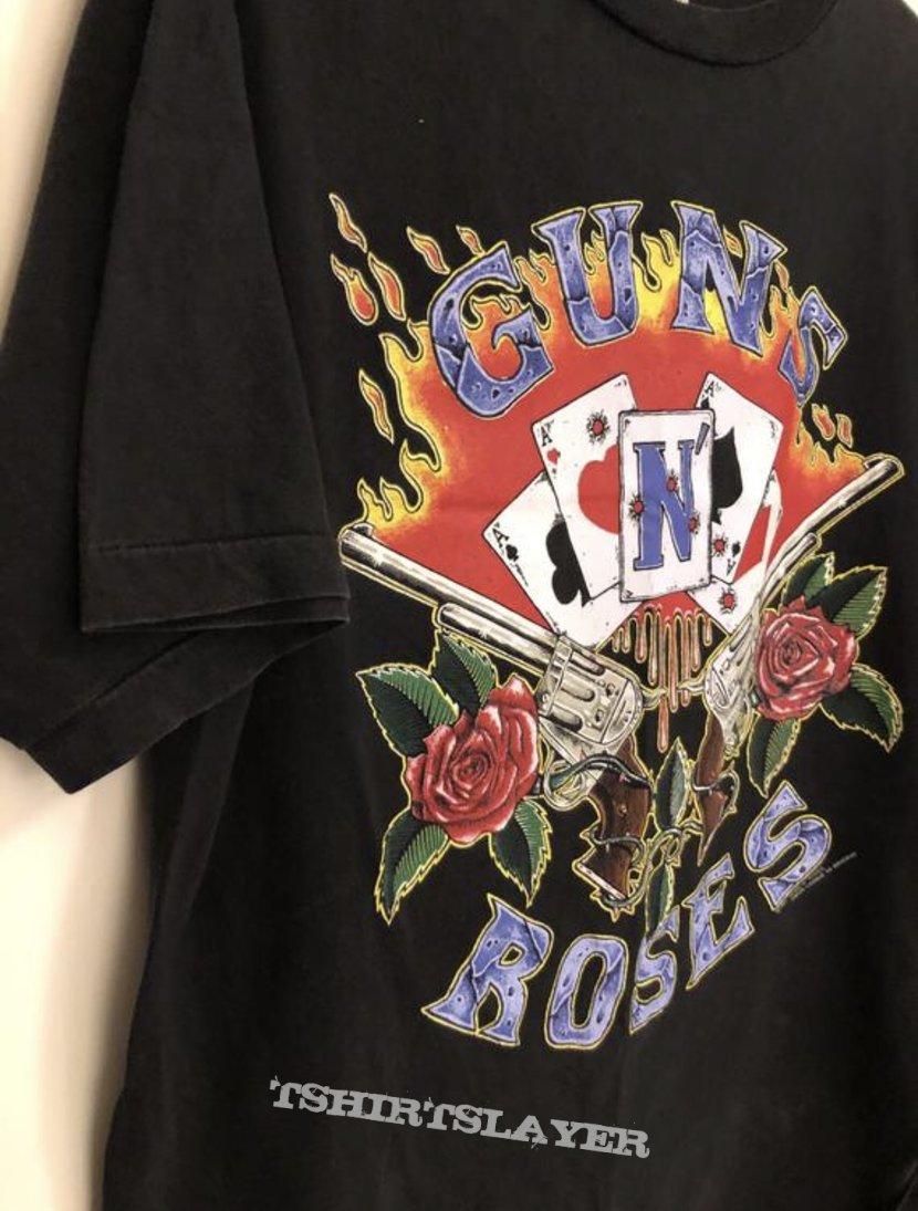 """Guns N' Roses """"Cards"""", TS"""