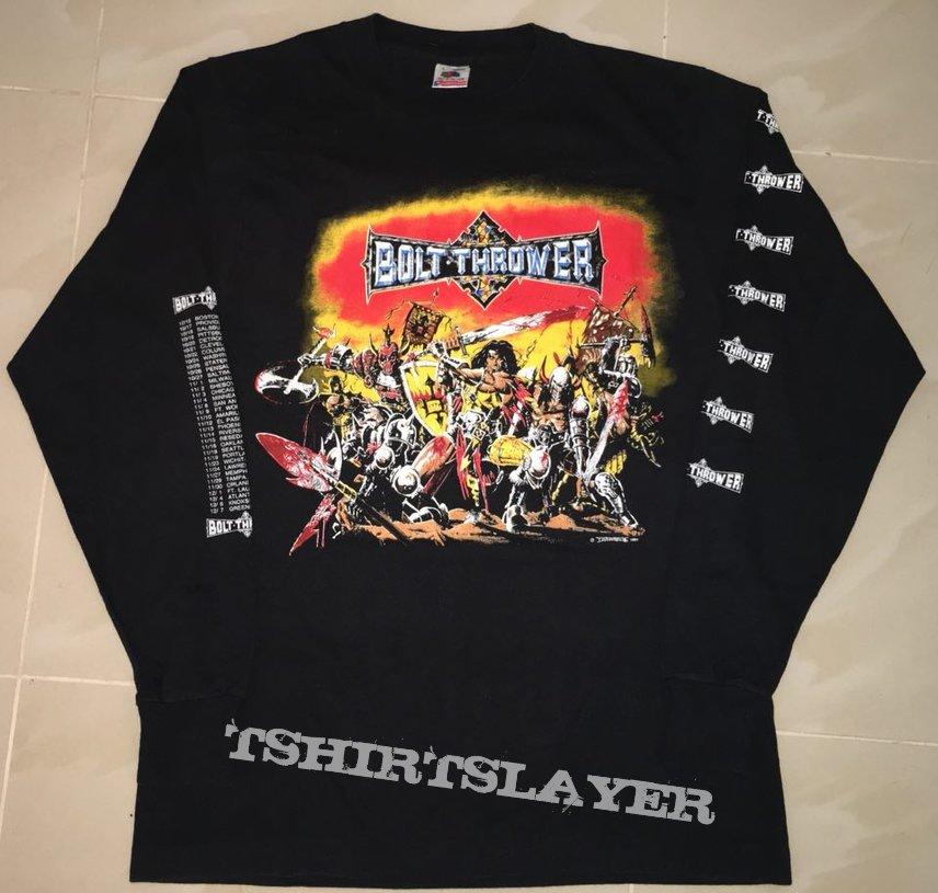 Bolt Thrower - War Master US tour original long sleeve