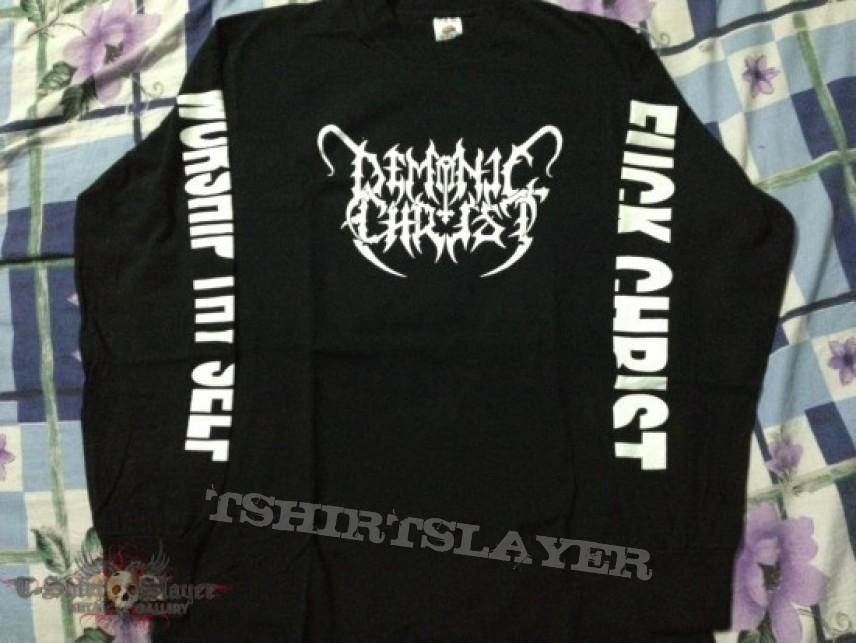TShirt or Longsleeve - Demonic Christ - God is Dead/Fuck Christ 1995 Long Sleeve Original