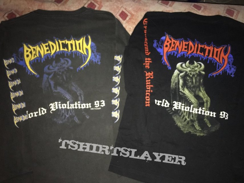 Benediction  - Transcend the Rubicon long sleeves