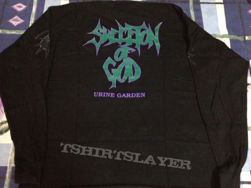 TShirt or Longsleeve - Skeleton of God - Urine Garden Long Sleeve 1993