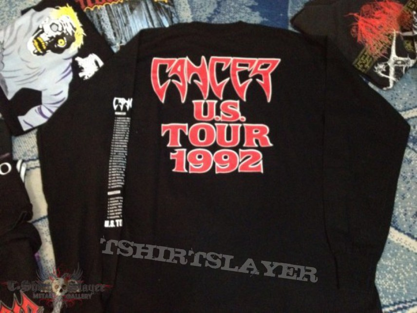 TShirt or Longsleeve - Cancer - Death Shall Rise US Tour long sleeve