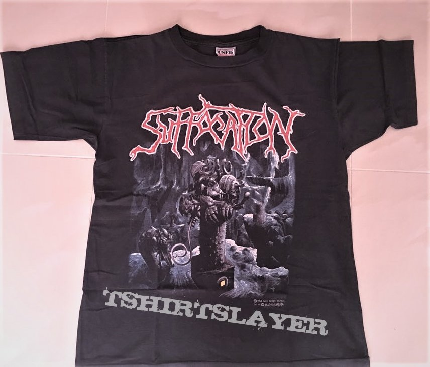 Suffocation - Breeding the spawn, US tour '93