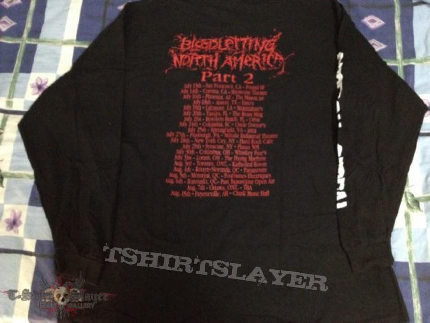 TShirt or Longsleeve - Pyaemia - Cerebral Cereal Bloodletting North American Tour 2002 Original