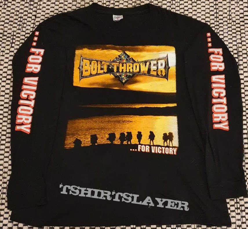 Bolt Thrower - For Victory, European tour long sleeve 1995