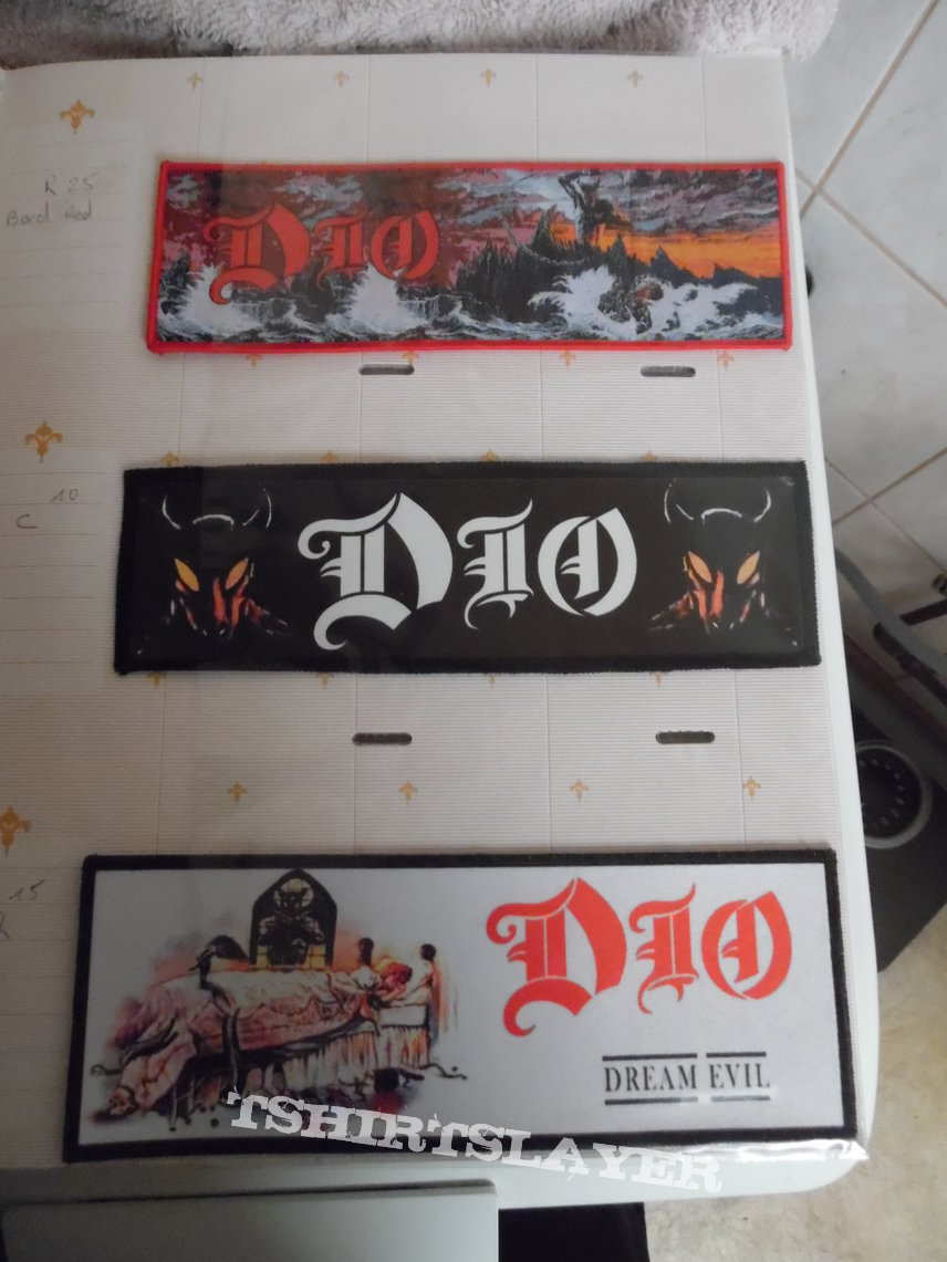 patch de collection dio rainbow black sabbath heaven and hell