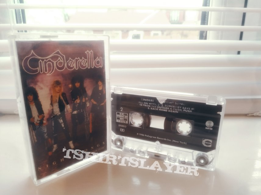 Night Songs by Cinderella Tape