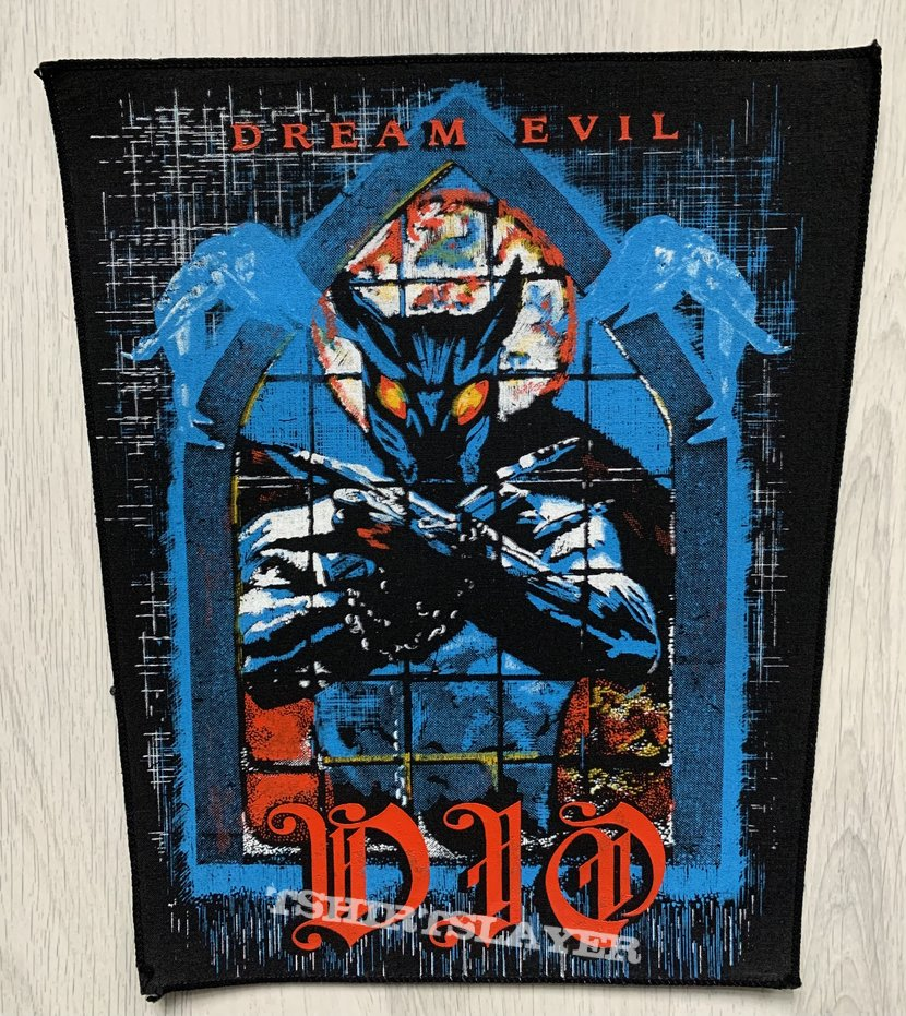 "DIO / Dream Evil ""Murray"" Backpatch"