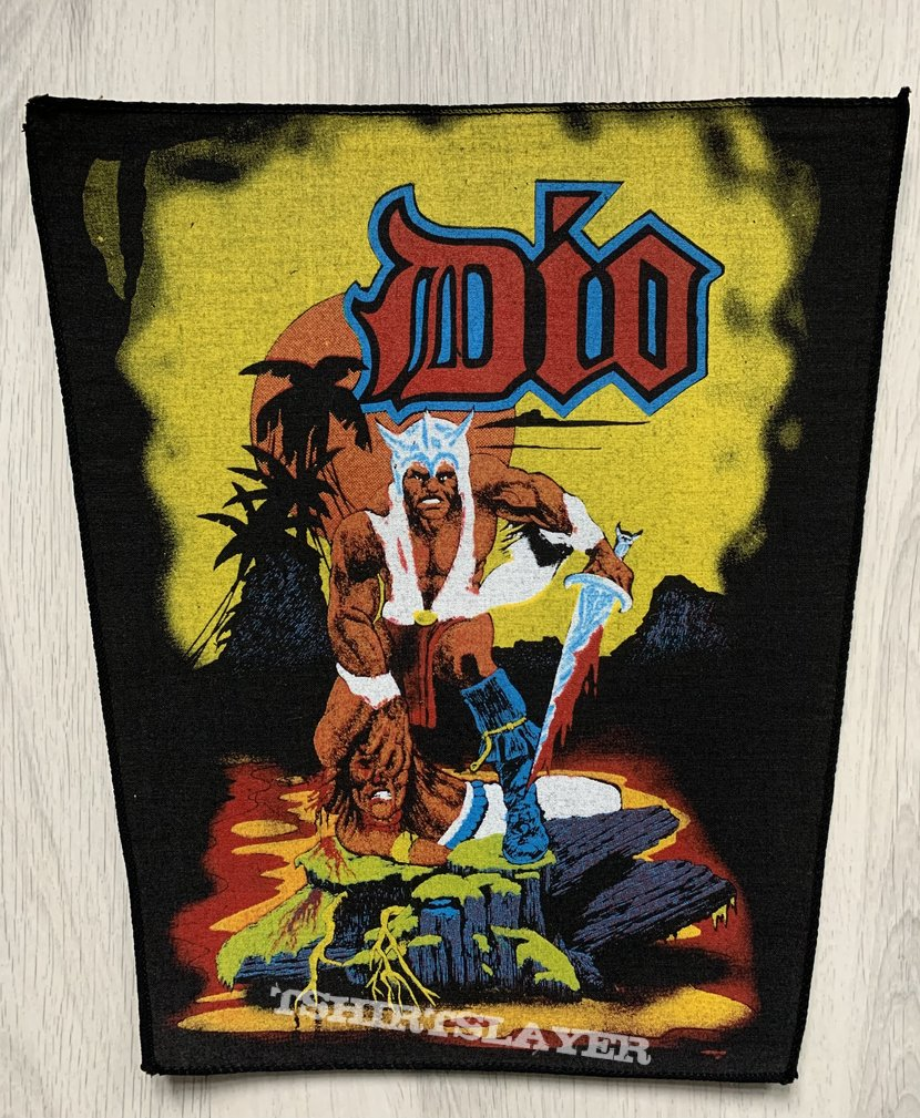 DIO / Warrior Backpatch