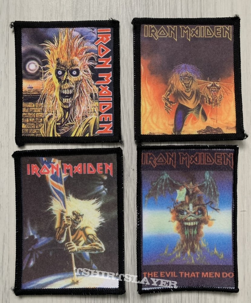 Iron Maiden - photo patches