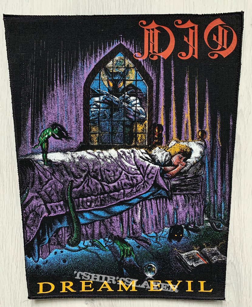 DIO / Dream Evil Backpatch