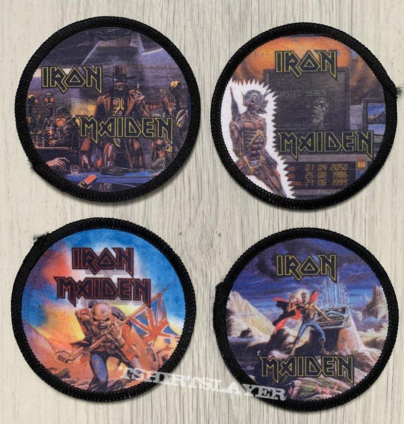 Iron Maiden - circle photo patches