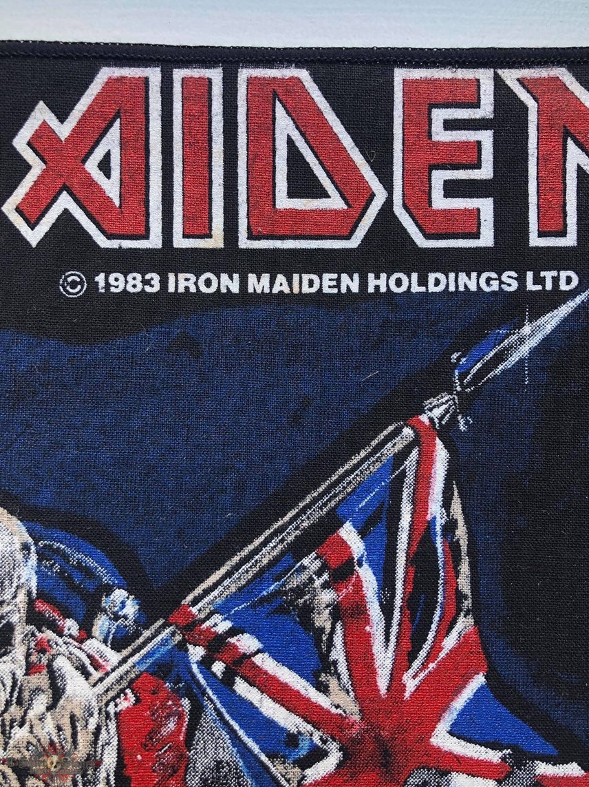 Iron Maiden / The Trooper - 1983 IM Holdings LTD Backpatch