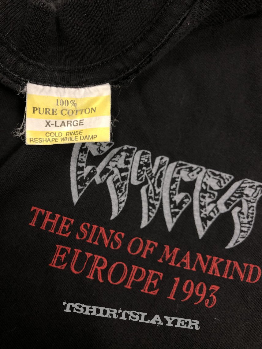 Cancer 1993 European Tour long sleeve shirt