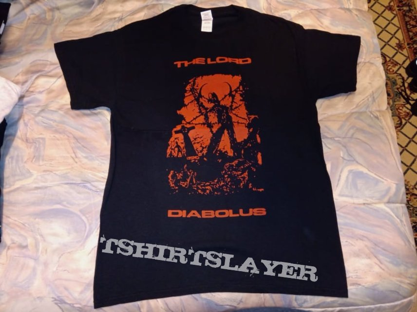 The Lord Diabolus ''Down There...'' bootleg tshirt
