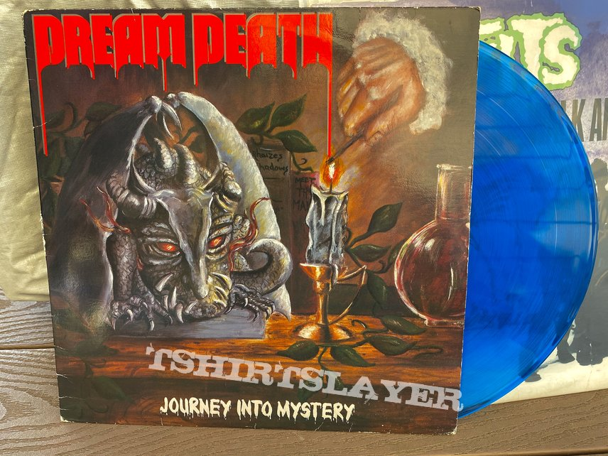 Dream Death Journey Into Mystery blue LP