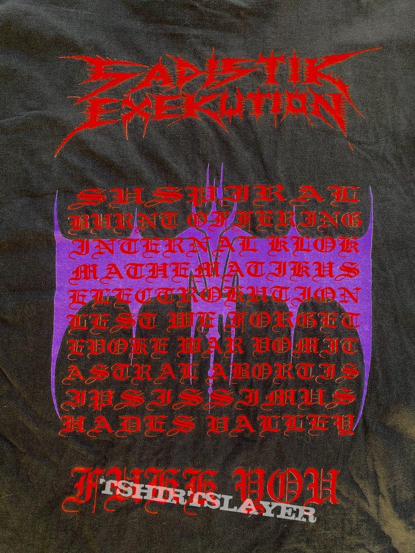 Sadistik Exekution old shirt