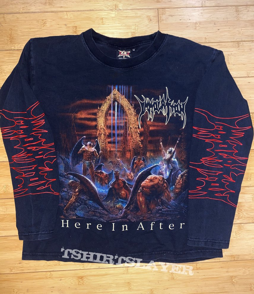 Immolation Here In After Longsleeve