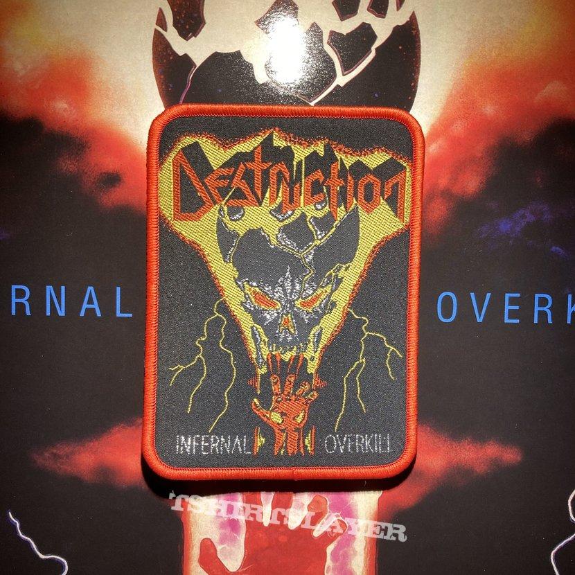 Destruction - Infernal Overkill woven patch