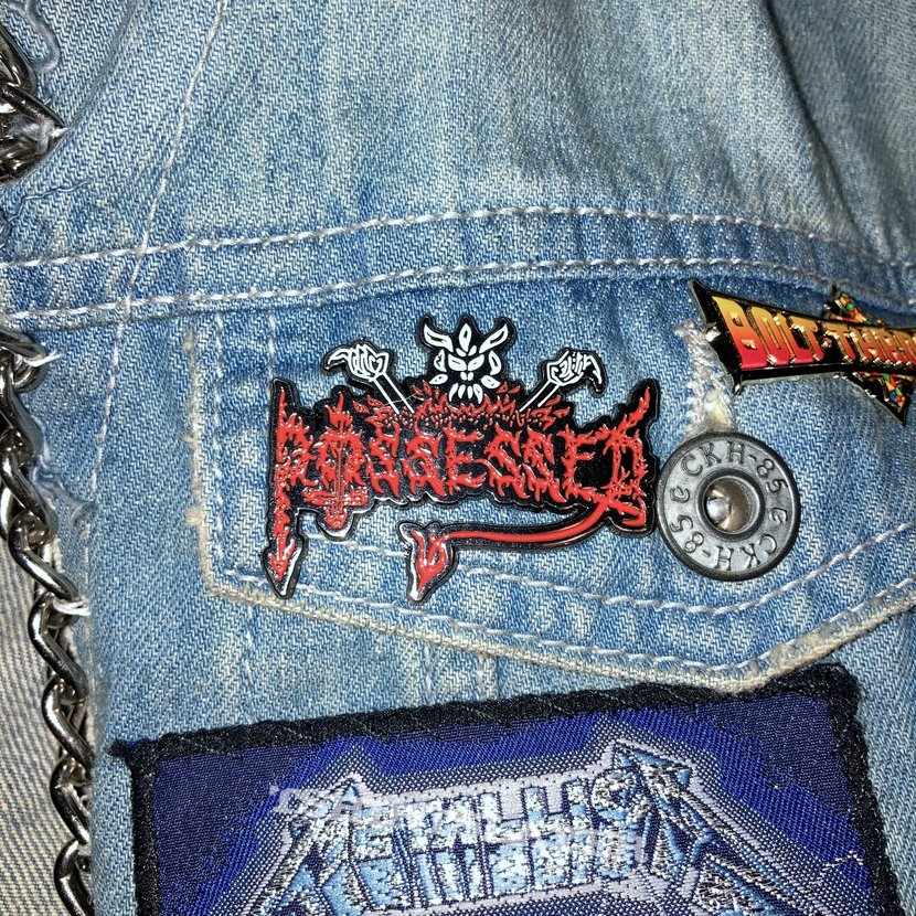 Official Possessed pin