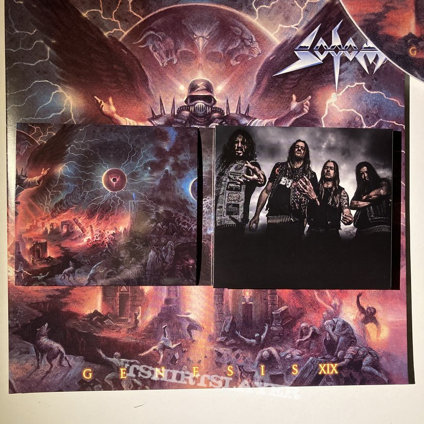 Sodom - Genesis XIX CD