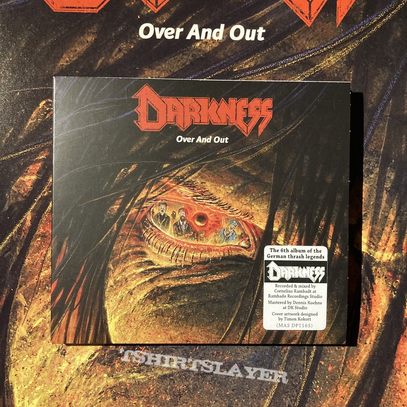 Darkness - Over and Out CD